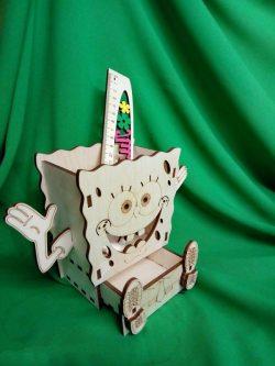 Smiley Ruler Box File Download For Laser Cut Free CDR Vectors Art