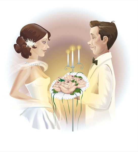 new wedding Free CDR Vectors Art
