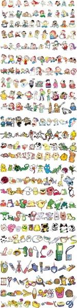 The animal figures tokichiro daily Free CDR Vectors Art