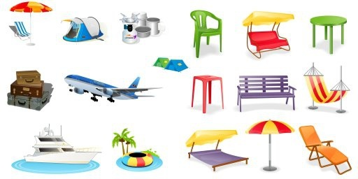 Icons Collection179809 Free CDR Vectors Art
