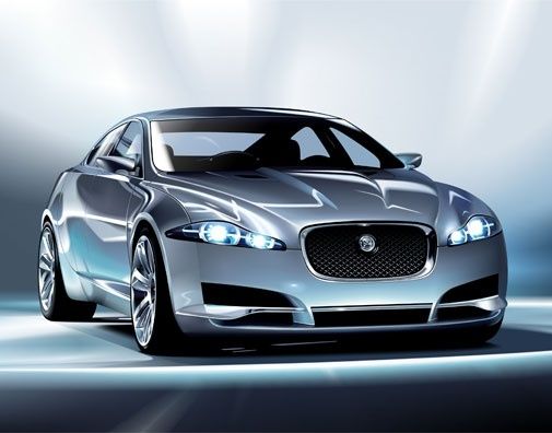 Jaguar cxf car Free CDR Vectors Art