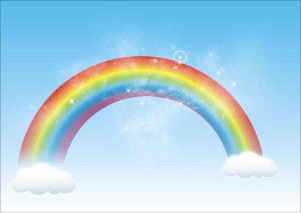 Rainbow Free CDR Vectors Art