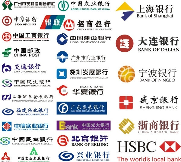 Bank logo collection Free CDR Vectors Art