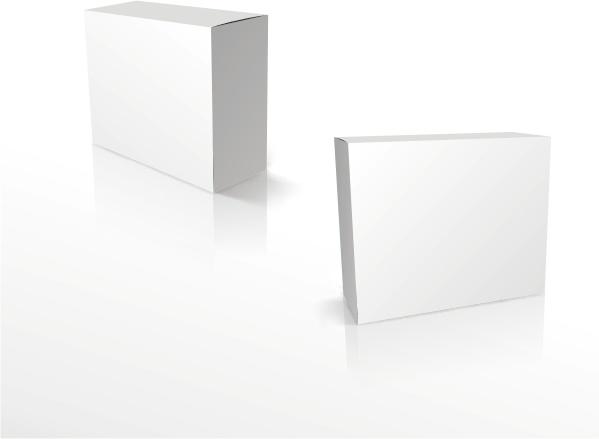 Square blank box Free CDR Vectors Art