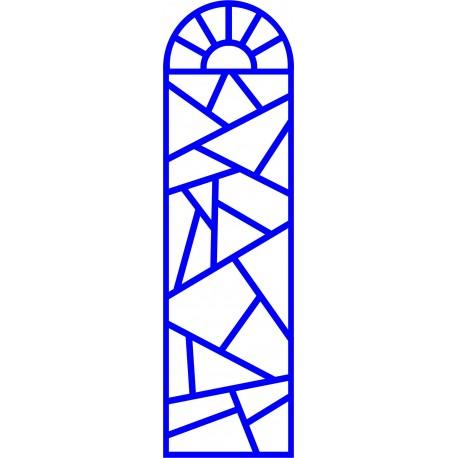 Cnc Panel Laser Cut Pattern File cn-l64 Free CDR Vectors Art