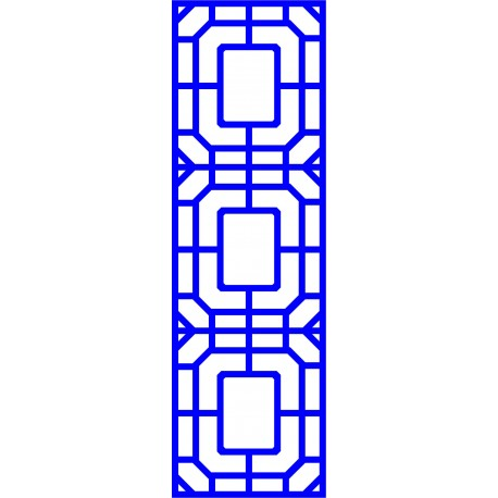 Cnc Panel Laser Cut Pattern File cn-l55 Free CDR Vectors Art