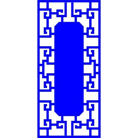 Cnc Panel Laser Cut Pattern File cn-l52 Free CDR Vectors Art