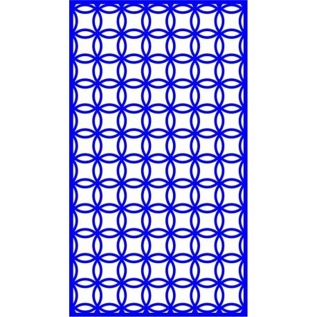 Cnc Panel Laser Cut Pattern File cn-l50 Free CDR Vectors Art