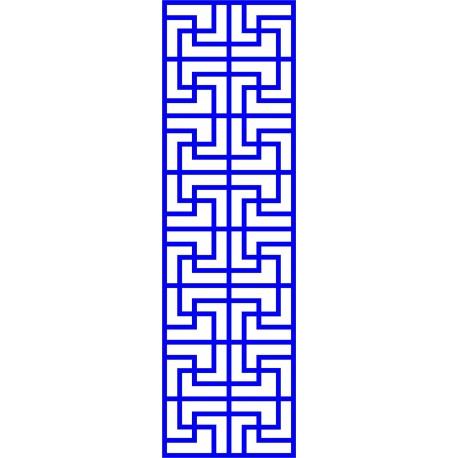 Cnc Panel Laser Cut Pattern File cn-l39 Free CDR Vectors Art