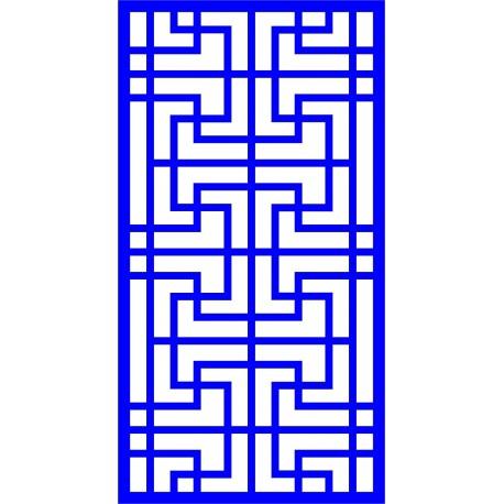 Cnc Panel Laser Cut Pattern File cn-l37 Free CDR Vectors Art