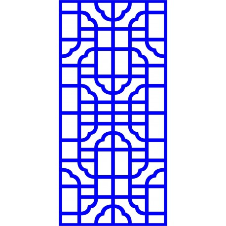 Cnc Panel Laser Cut Pattern File cn-l35 Free CDR Vectors Art