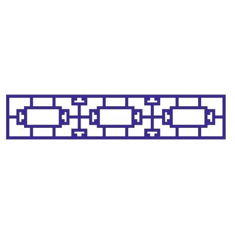 Cnc Panel Laser Cut Pattern File cn-l33 Free CDR Vectors Art
