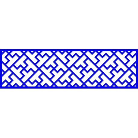 Cnc Panel Laser Cut Pattern File cn-l32 Free CDR Vectors Art
