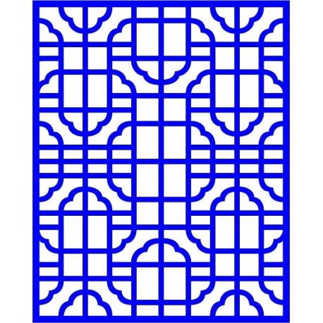Cnc Panel Laser Cut Pattern File cn-l30 Free CDR Vectors Art