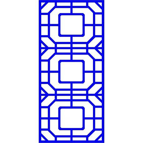 Cnc Panel Laser Cut Pattern File cn-l27 Free CDR Vectors Art