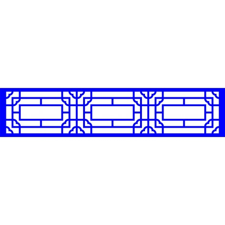 Cnc Panel Laser Cut Pattern File cn-l23 Free CDR Vectors Art