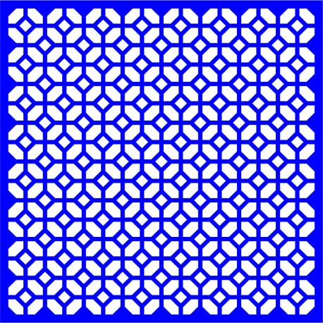Cnc Panel Laser Cut Pattern File cn-l18 Free CDR Vectors Art