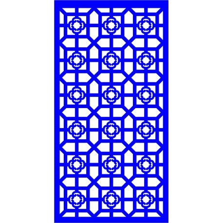 Cnc Panel Laser Cut Pattern File cn-l17 Free CDR Vectors Art
