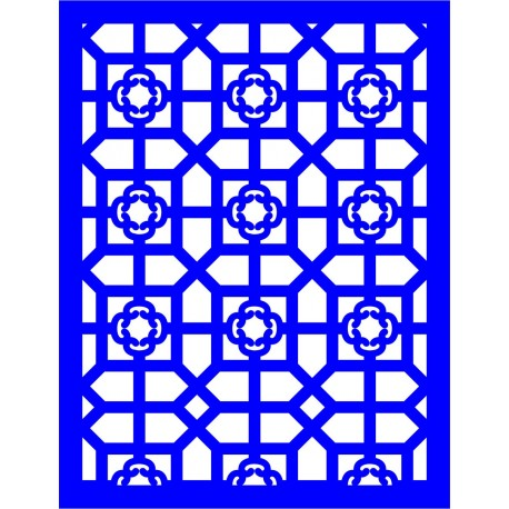 Cnc Panel Laser Cut Pattern File cn-l16 Free CDR Vectors Art