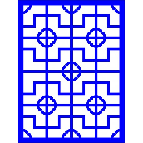 Cnc Panel Laser Cut Pattern File cn-l15 Free CDR Vectors Art
