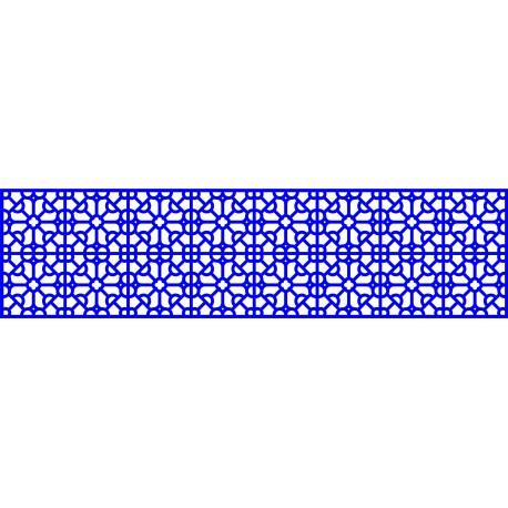 Cnc Panel Laser Cut Pattern File cn-l14 Free CDR Vectors Art