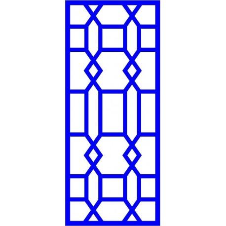 Cnc Panel Laser Cut Pattern File cn-l13 Free CDR Vectors Art