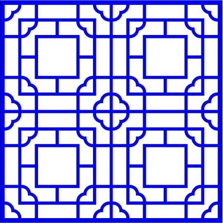Cnc Panel Laser Cut Pattern File cn-l12 Free CDR Vectors Art