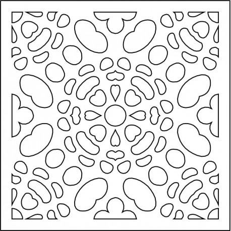 Cnc Panel Laser Cut Pattern File cn-l7 Free CDR Vectors Art