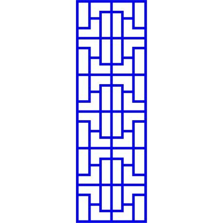 Cnc Panel Laser Cut Pattern File cn-l6 Free CDR Vectors Art