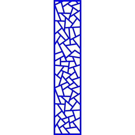 Cnc Panel Laser Cut Pattern File cn-l4 Free CDR Vectors Art