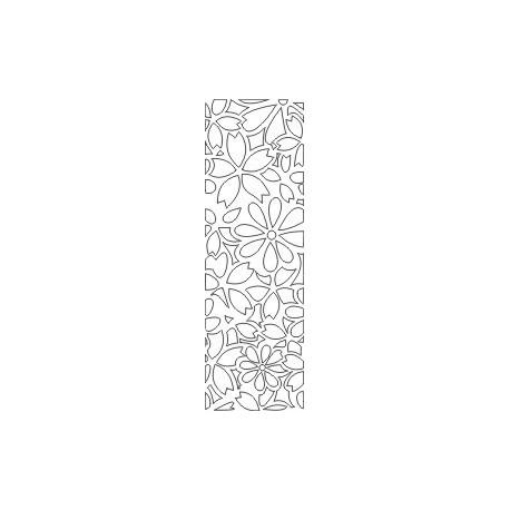 Cnc Panel Laser Cut Pattern File cn-h385 Free CDR Vectors Art