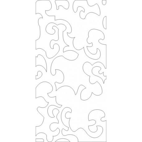 Cnc Panel Laser Cut Pattern File cn-h354 Free CDR Vectors Art