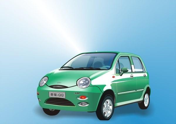 qq cars Free CDR Vectors Art