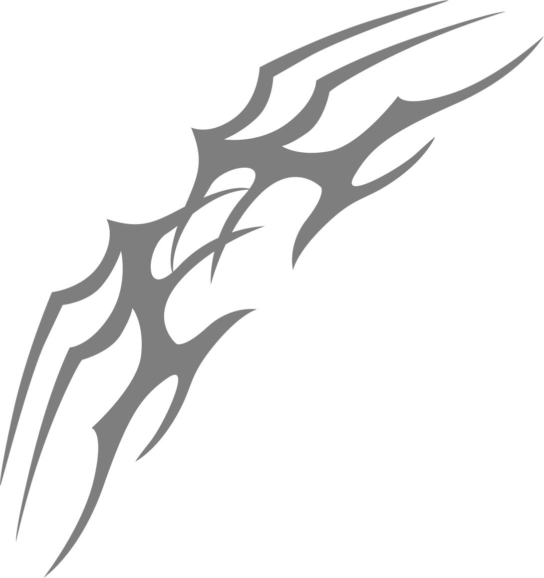Tribal Tattoo Design Free CDR Vectors Art