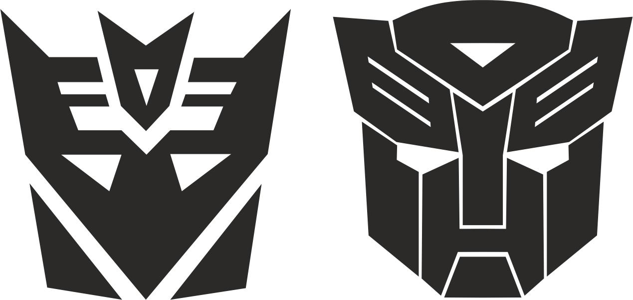 Transformers Stickers Decals Free CDR Vectors Art