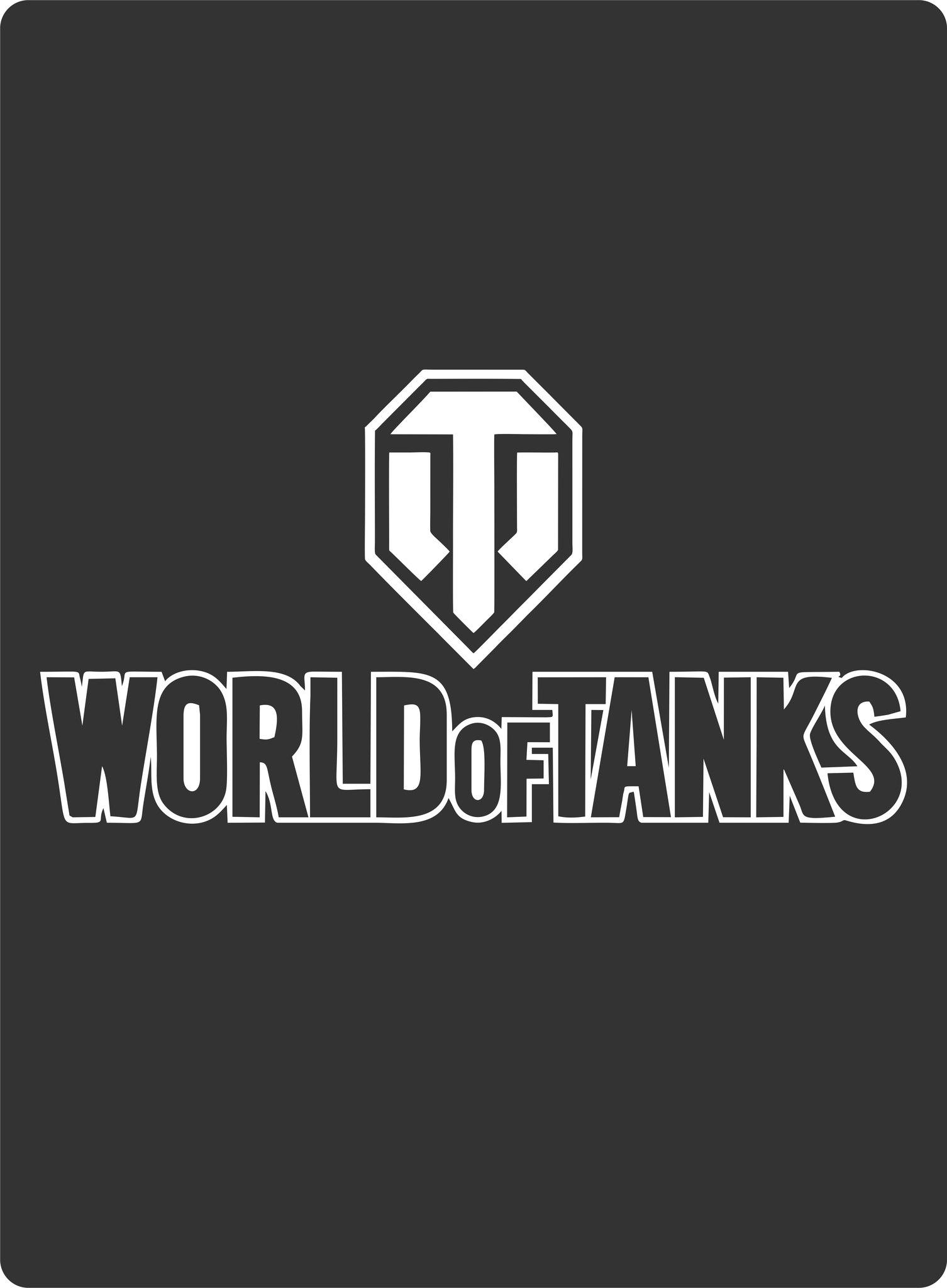 Sticker World Of Tanks Free CDR Vectors Art