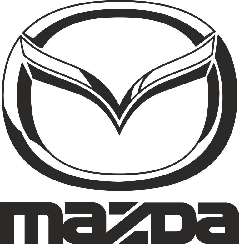 Mazda Black Vector Logo Free CDR Vectors Art