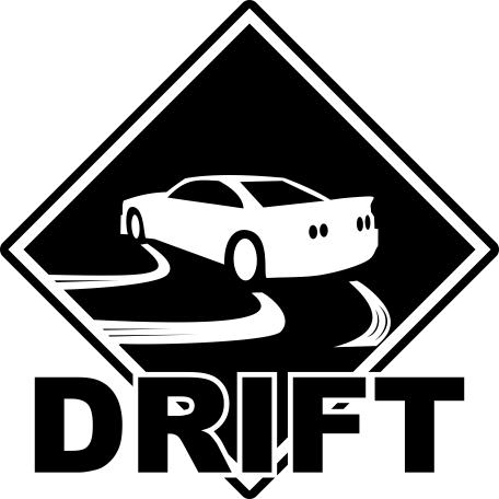 Drift Sticker Free CDR Vectors Art