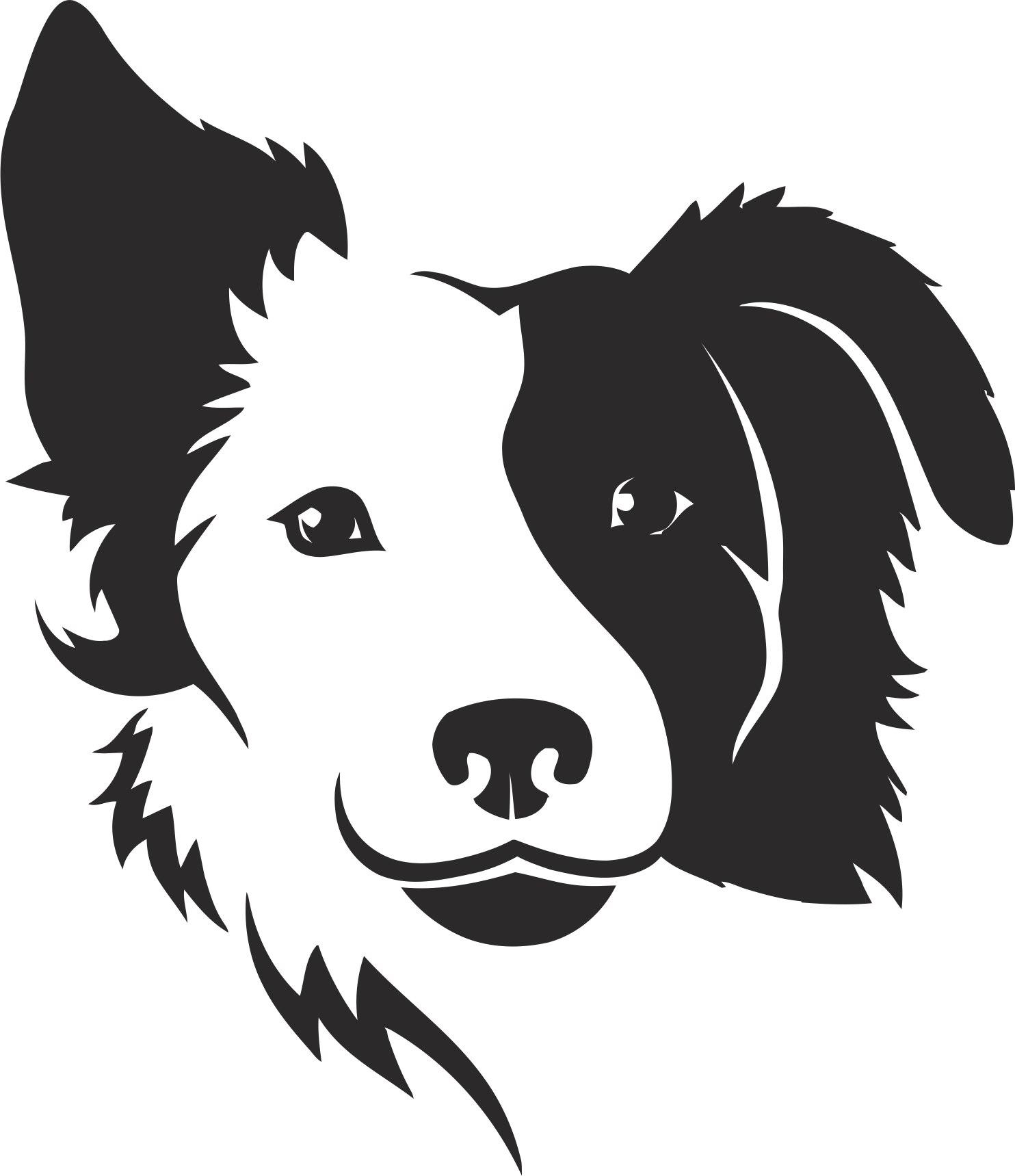Dog Silhouette Free CDR Vectors Art