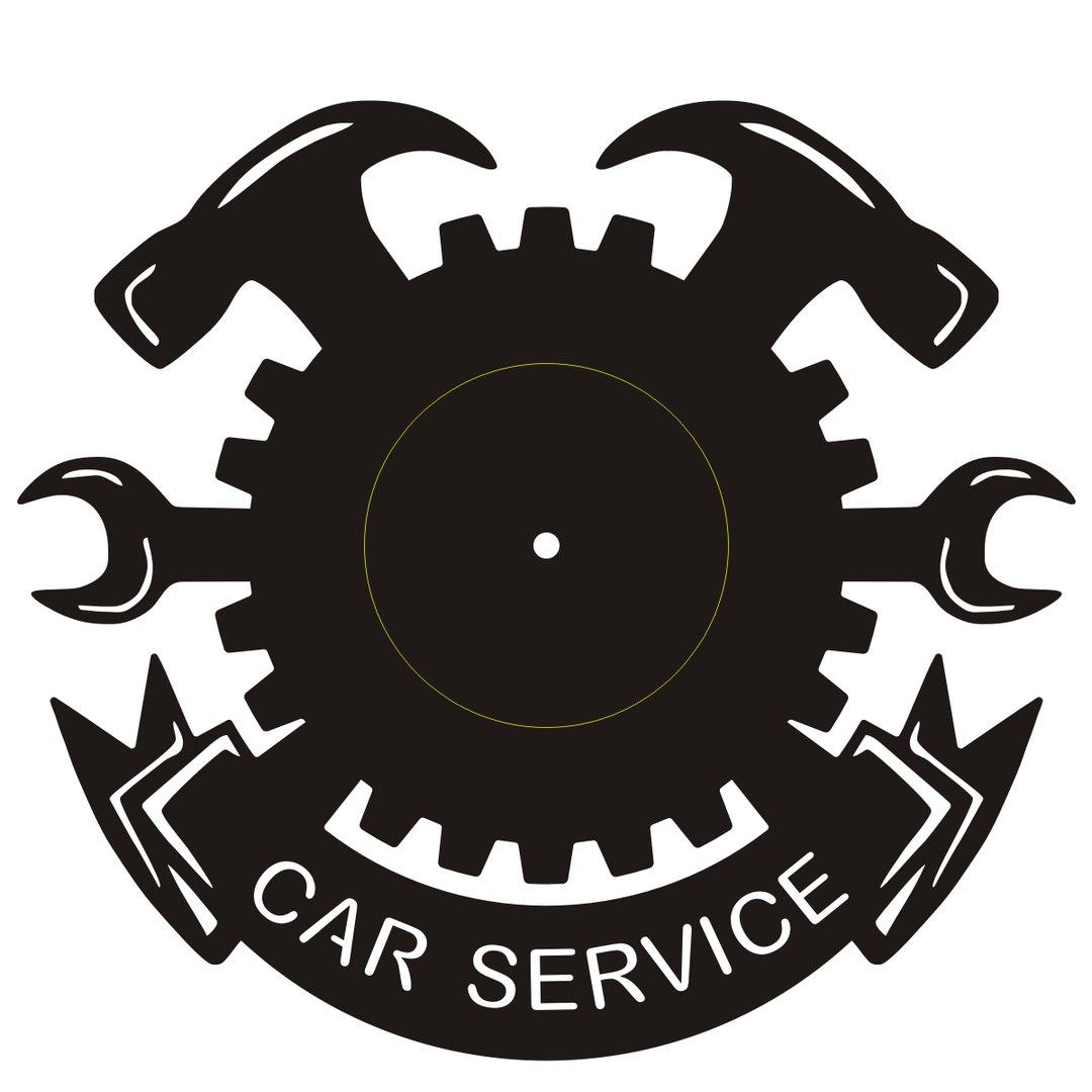 Clock Car Service Free CDR Vectors Art