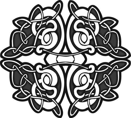 Circle Celtic Design Free CDR Vectors Art