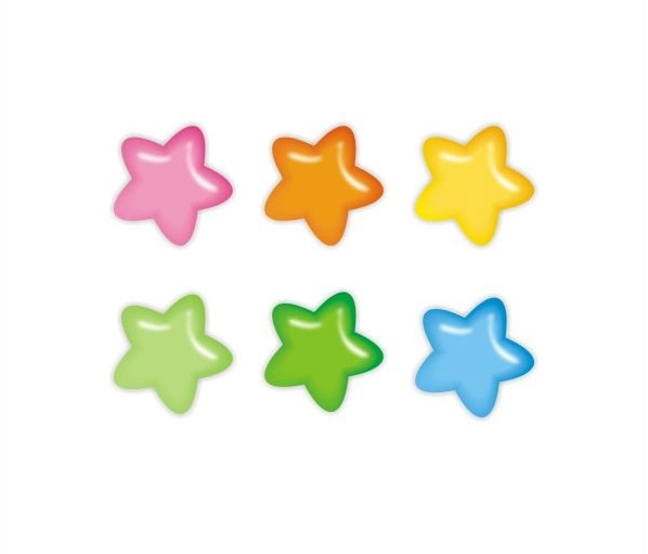 little star Free CDR Vectors Art