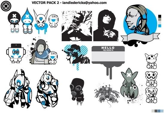EIKO PACK Free CDR Vectors Art