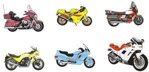 Motorcycle -275696 Free CDR Vectors Art