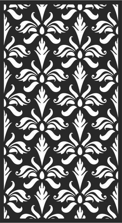 Seamless Vector Floral Pattern Free CDR Vectors Art