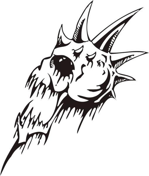 Skull -2119646 Free CDR Vectors Art