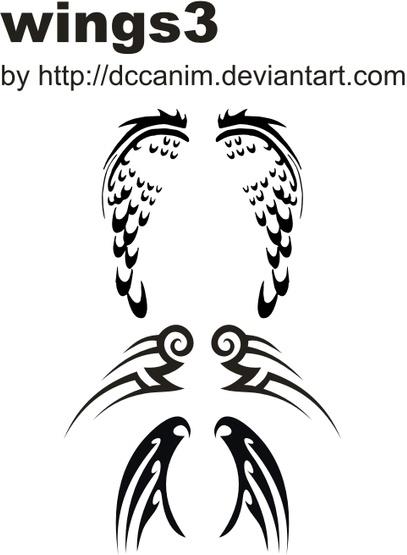 Dccanim_wing-3119982 Free CDR Vectors Art