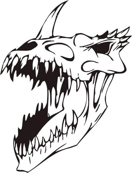 Skull-3145019 Free CDR Vectors Art