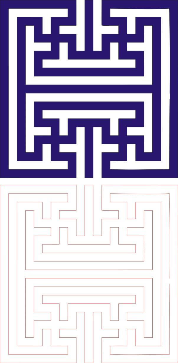 Laser Cut Seamless Panel Design-136 Free CDR Vectors Art