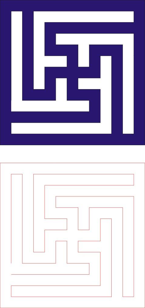 Laser Cut Seamless Panel Design-137 Free CDR Vectors Art